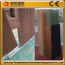 Jinlong reduce la almohadilla de enfriamiento de temperatura para equipos avícolas / granja de ganado