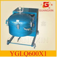 Purificador de óleo vegetal Purificador de óleo comestível bruto Yglq600 * 1