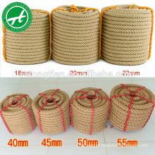 hot sale natural sial rope untreated golden sisal rope supplier sial rope 6mm