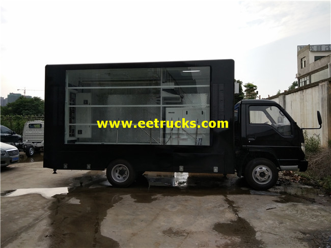 Full Color LED Mobile Billboard Vehicles