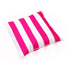 square stripe printed toss game beanbag
