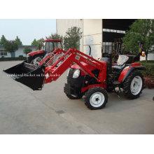 Mini tracteur avec chargeur à godets combinés