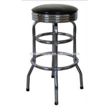 Chrome bar chair tabouret de bar