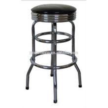 Хромированный барный стул