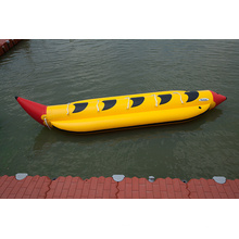 Aufblasbares Bananen-Boot zum Verkauf gutes aufblasbares Wasser-Bananen-Boot