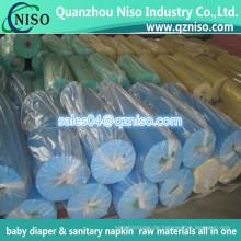 PE-Folien-Materialien für Damen-Hygiene-Servietten-Verpackungs-Rückseiten-Blatt