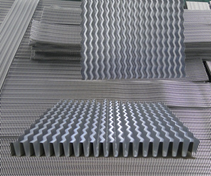 China Heat Exchanger Fins Aluminum Copper Ss Fins Folded