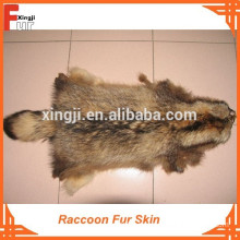 Natural Color Raccoon Fur Skin
