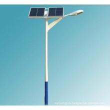 Уличный свет Стальной столб с панелью солнечных батарей
