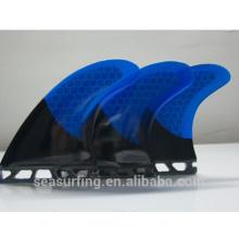 Futures ailettes de propulseur d'ailerons pour paddleboard / planche de surf / palmes de surf longboard