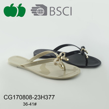 Cheap Summer Women Fashion Style Pvc Flip Flops