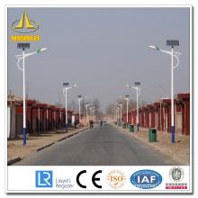 Poteau solaire solaire personnalisé