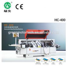 Machine manuelle de cerclage de bord de haute performance / machine de cerclage de devise / machine de cerclage de bord