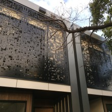 Decorative Metal Balcony Panels