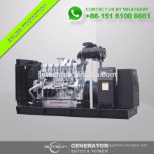 Factory supply Japan Original 600KW Mitsubishi engine diesel generator