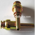 Precision lathe machining service for hose fitting coupling