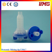 High Quality Dental Materials Mixing Tips and Impression Mixing Dispenser Gun Ab 1: 1 Dentist Products