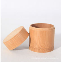 Customized Size Tea Storage Bamboo Canister