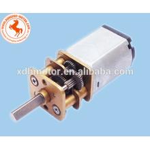 caja de cambios de motor de juguete de baja tensión y altas rpm, motor de corriente continua de alta rpm mini motor de engranaje, motor de corriente continua de 12 mm
