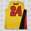 Fashion quick dry breathable basketball jersey design