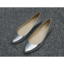 Nova coleção apontou toe sapatos casuais das mulheres plana (hcy02-714)