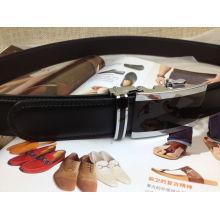 Men Leather No Hole Belts (YC-140609)