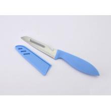 Couteau à fruits et légumes en acier inoxydable multifonction, couteau de cuisine avec gaine