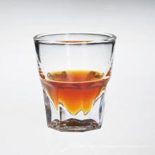 Vidro de uísque bebendo personalizado por atacado claro