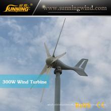 Beneficios del mini generador de energía eólica de 300W 24V