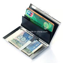 2016 Metal cartão de crédito caso passaporte cartão caso
