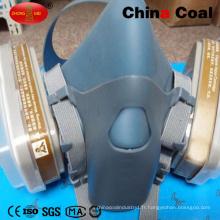 7502 masque de sécurité en silicone masque à gaz