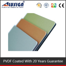 ALUSIGN good quality plastic sheet wall