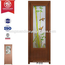 Quality Waterproof UPVC Frosted Glass Doors for Toilet or Bathroom or Kitchen