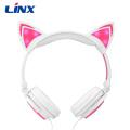 Light Up Glowing Hot Selling Cat Ear Headphones