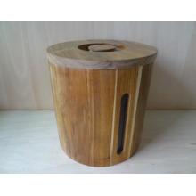 Sealed Migang Flour Barrel Godet en bois massif en bois