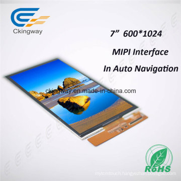 """7"""" All Viewing Direction 40 Pin LCD Module"""