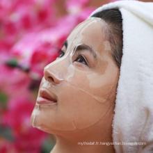 Masque facial de collagène de masque d'acide hyaluronique d'hydration d'OEM / ODM pour des spas faciaux