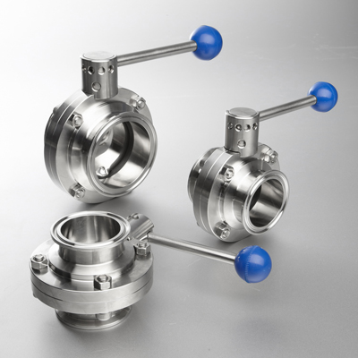 Clamped Butterfly Valve