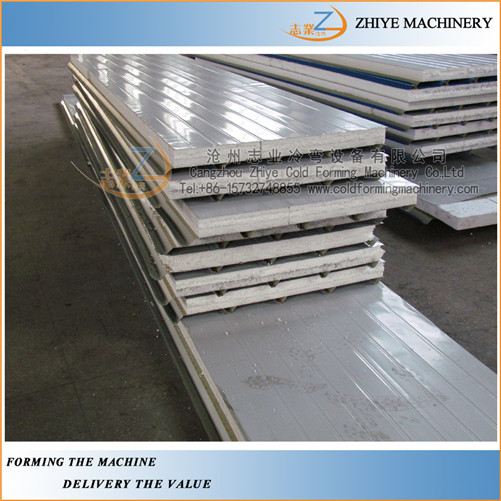 Wall Sandwich Panels Roll Forming Machine
