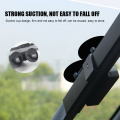 Foldable car front windshield blackout curtain