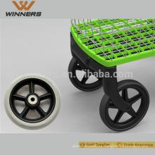 Rueda delantera de la silla de ruedas de 5 pulgadas