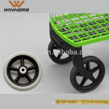 Roda dianteira da cadeira de rodas de 5 polegadas