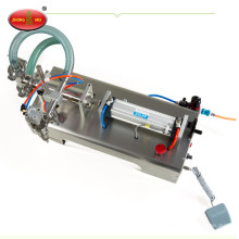 One head semi automatic liquid olive oil bottle filling machine for sale