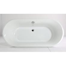 Freistehende Badewanne mit klarem, reinem Acryl