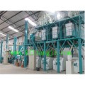 50-200 Tons Steel Framed Flour Mill Plant