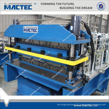 High quality double roll forming machine for sale