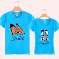 Fashion Printing Wholesale Custom Cotton Lovers T Shirt