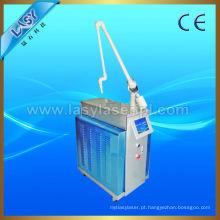 Dermatologia médica articulada a laser