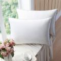 Tissu 100% coton remplissant l'oreiller blanc d'hôtel
