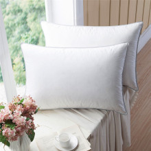 100% Cotton Fabric Down Filling White Hotel Pillow